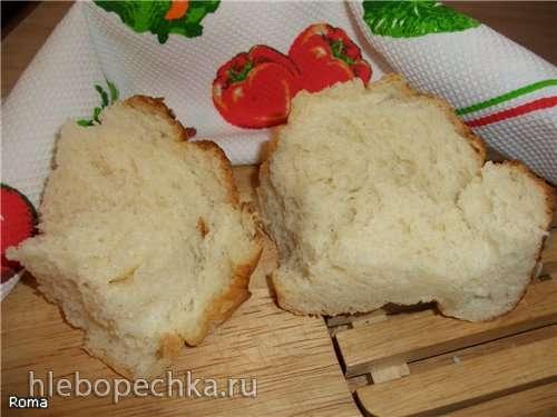 Пшенично-картофельный формовой хлеб (духовка)