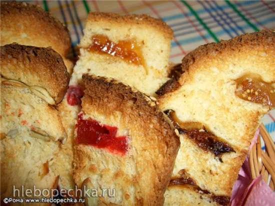 Хлеб пшеничный «Заплаточки» (духовка)