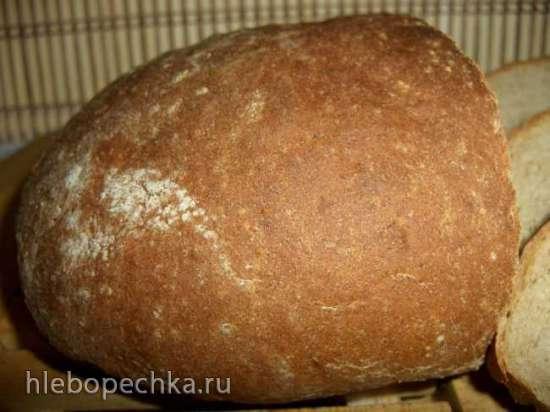 Хлеб пшенично-гречневый сливочно-медовый (духовка)
