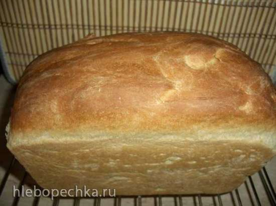 Белый хлеб на настое чайного гриба (духовка)