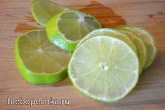 Скумбрия, запеченная с лимоном в купольном электрогриле
