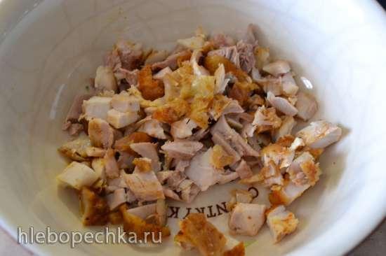 Оладьи «Сухой паёк» с брокколи и курицей