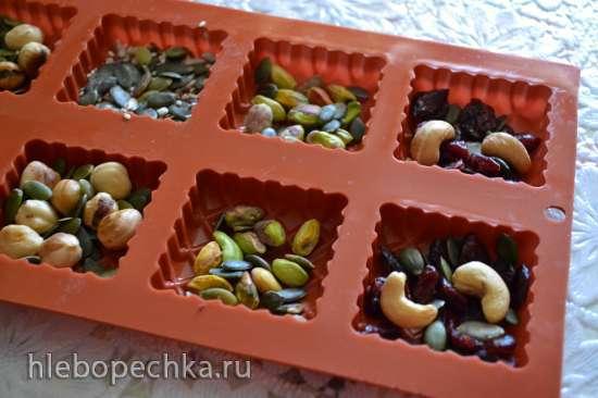 Шоколад ореховый веганский с наполнителем