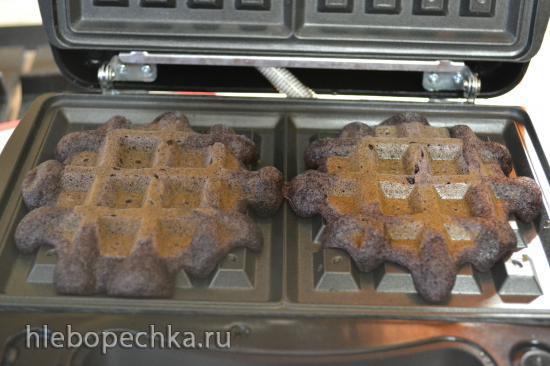 Вафли мягкие черные без глютена (для вегетарианцев)