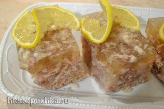Холодец, студень, заливное (из мяса, рыбы)