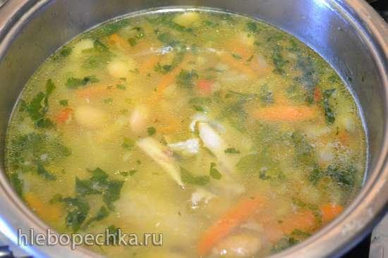 Суп фасолевый с пастой «Orzo»