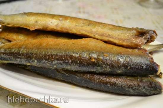 Сайра жареная (на сковороде)