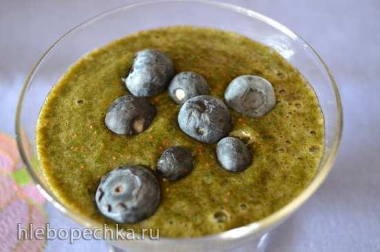 Травяные зеленые коктейли (смузи)
