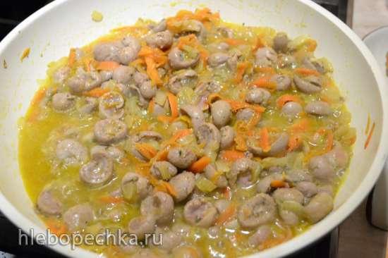 Почки кроличьи в сметанном соусе