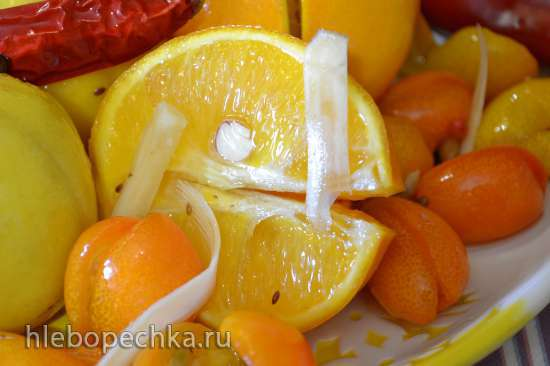 Лимоны в кисло-сладком маринаде