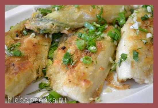 Цикорий салатный в кляре