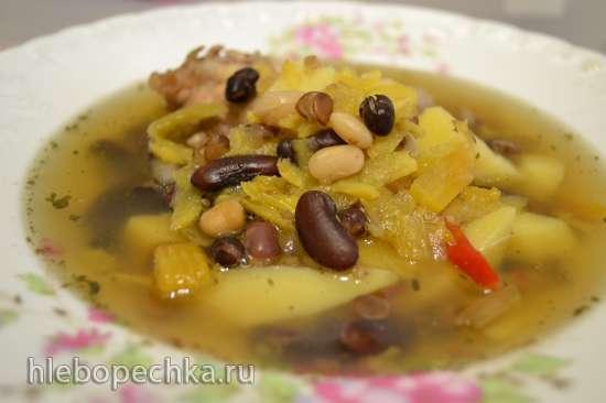 Суп с крупой микс и репой (мультиварка Redmond RMC-01)