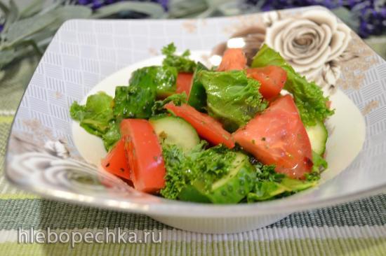 Яичница по пьемонтски с вялеными томатами и трюфелем