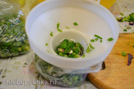 Лук зеленый (для закладки в морозилку)