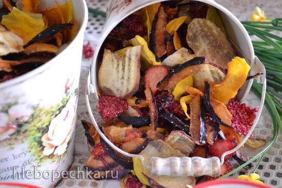 Сушка «Фруктово-ягодный букет», натуральная цельная клетчатка, каша геркулесовая «как из пакетика», напиток фруктовый