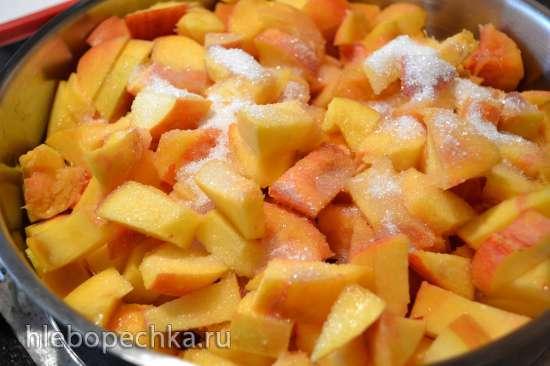 Фруктово-ягодное натуральное пюре-соус (горячий способ)
