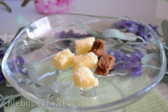 Пудинг сыроеда с молочными семенами чиа