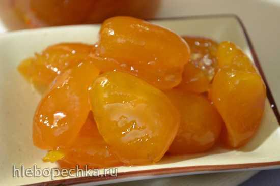 Кумкваты в апельсиновом сиропе (варенье и джем из кумкватов)