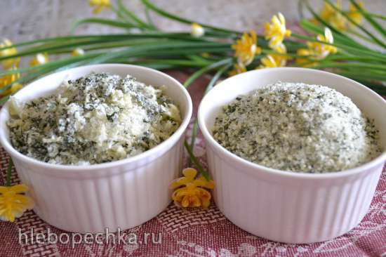 Кулинарная соль «Базилик с чесноком»