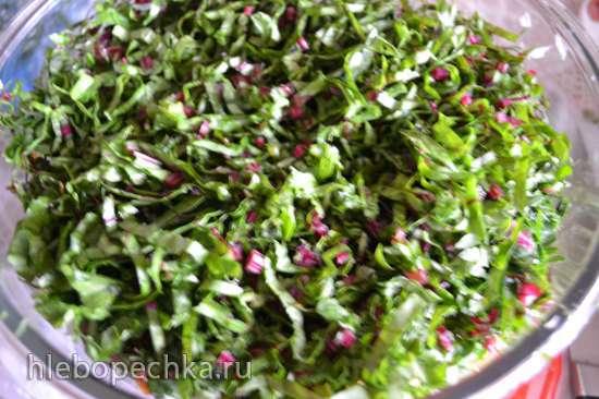 Ферментированные овощи и травы для поддержания кислотно-щелочного баланса организма (Oursson FE0205D/GA)