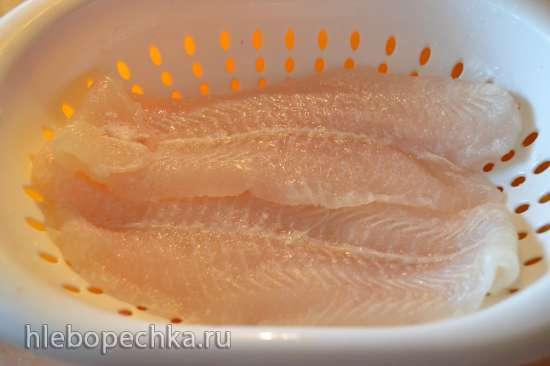 Тажин: белая рыбка под красным маринадом