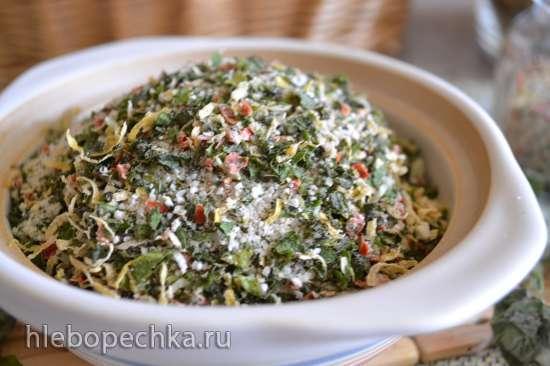 Кулинарная соль «сухая гремолата»