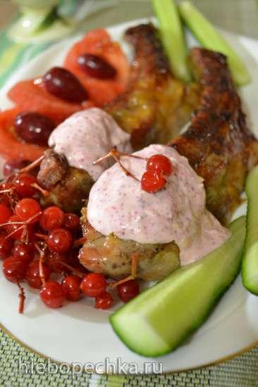 Запеченные в духовке свиные ребра «Мужская еда»