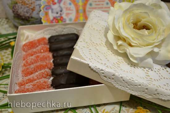 Мармелад «морковные пальчики» «candied fruits (glace fruits)»