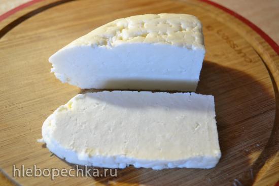 Адыгейский сыр жареный