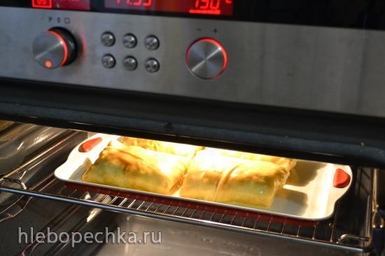 Блинный пирог Капустный лапоть