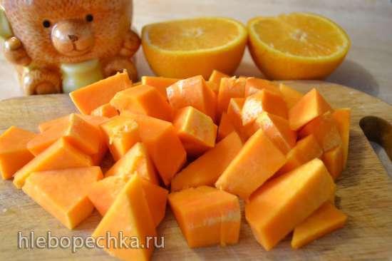 Тыквенное пюре с апельсином