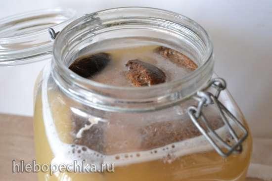 Полезный завтрак: кисель из ферментированного (заквашенного) геркулеса