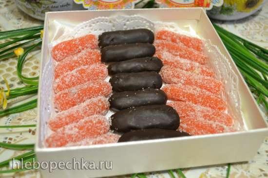 Мармелад «морковные пальчики» «candied fruits (glace fruits)»