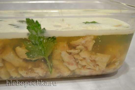 Холодец из рыбы сборный (без желатина)