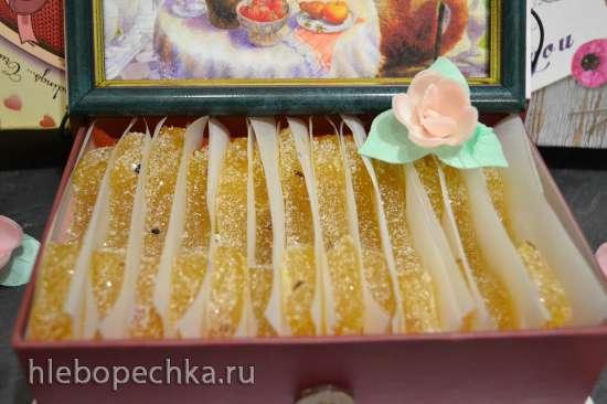 Мармелад «ананасовые дольки» «candied fruits (glace fruits)» с кумином и кардамоном
