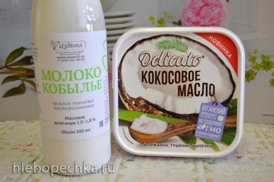 Блины на кислом кобыльем молоке без глютена