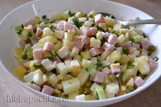Современный салат «Оливье» (он же «Московский», он же «Столичный», он же «Собственная фантазия»)