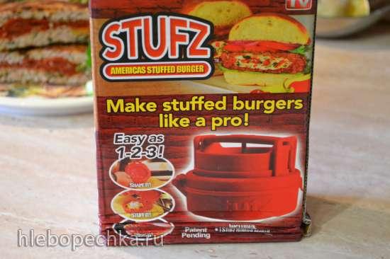Зразы-бургеры, в формочке «stufz pocket» (на сковороде и на пару)