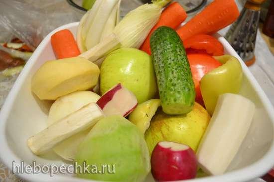 Редька, репа, кольраби, и другие подобные овощи, заквашенные (естественной ферментации)