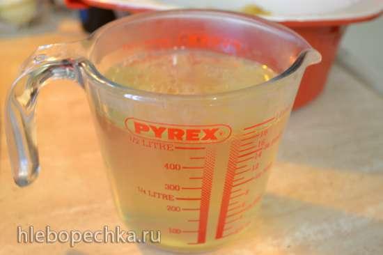 Перловая каша с луком на курином бульоне, томленая в духовке