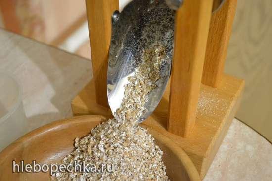 Оладьи из черного риса «Южная ночь»
