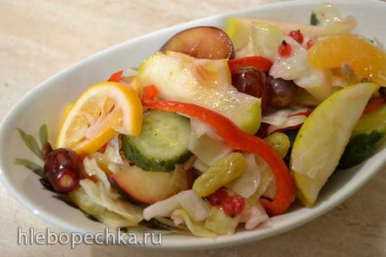 Салат капустный «провансаль»