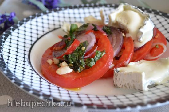 Салат из некондиционных помидоров