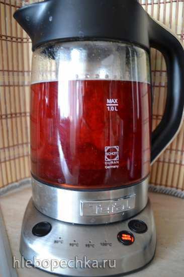 Электрочайник, прибор для заваривания травяного и прочего чая Tefal BJ 700D