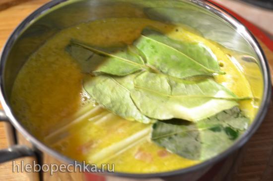 Свекла отварная в апельсиновом соке,  под цитрусовым соусом