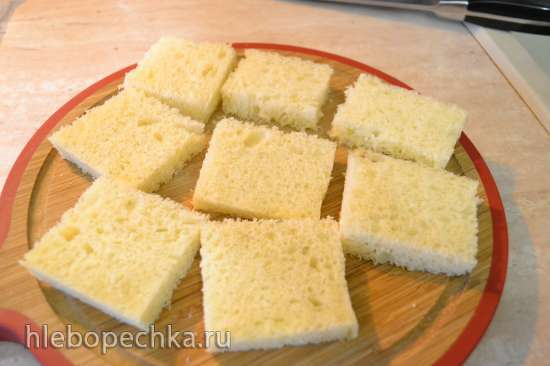 Мини-тосты десертные в купольном электрогриле