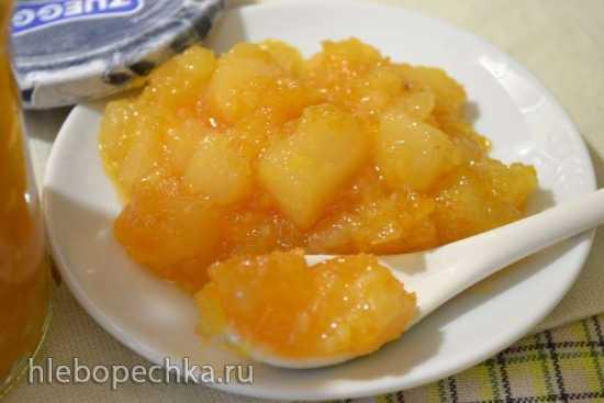 Джем грушево-апельсиновый в скороварке Oursson