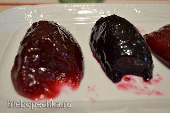 Желе ягодное натуральное (горячий способ)