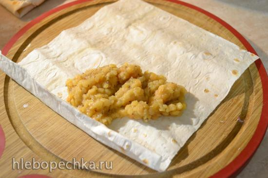 Паста из красной чечевицы с изюмом (для вегетарианцев)