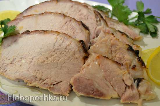 Корейка свиная, запеченная в молоке